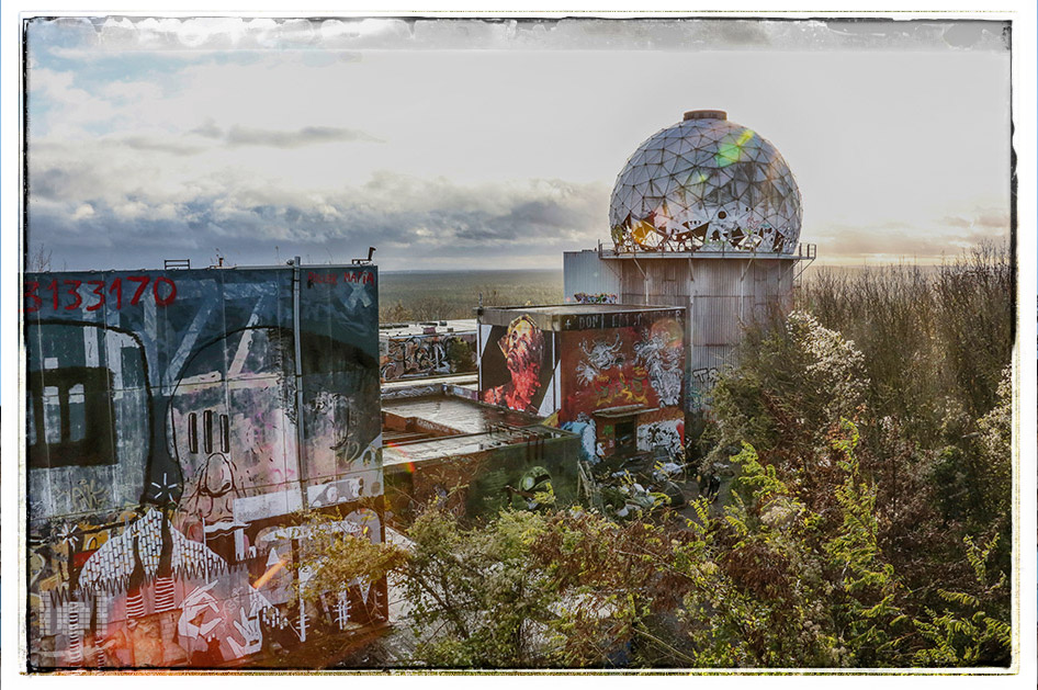 Lost place: Teufelsberg in Berlin
